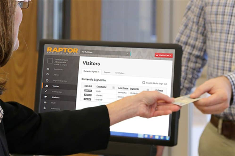 Introducing the Raptor Visitor Management System