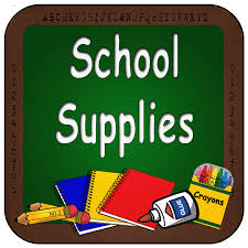 2019-2020 Supply Lists - Grades K, 1st, 2nd