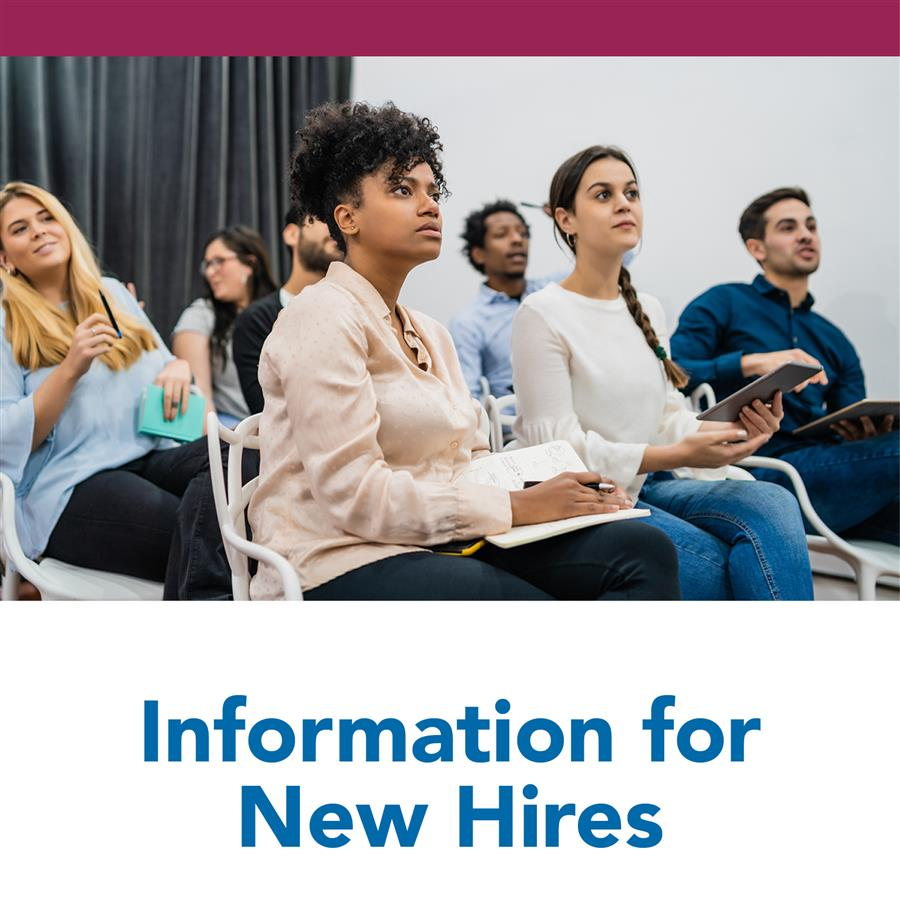 Information for New Hires