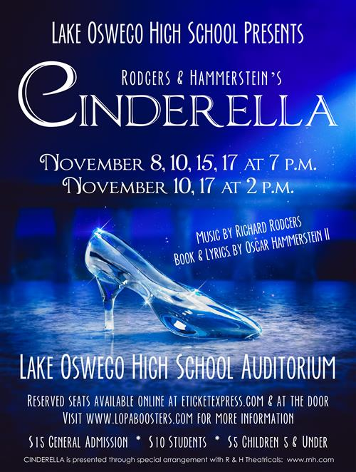 Opening Night is November 8th - Get your tickets now!