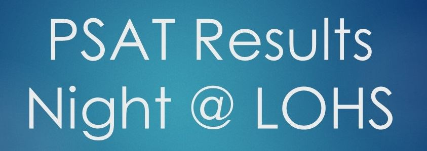 PSAT Results Night