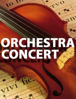 Orchestra Concert October 25th @ 7pm