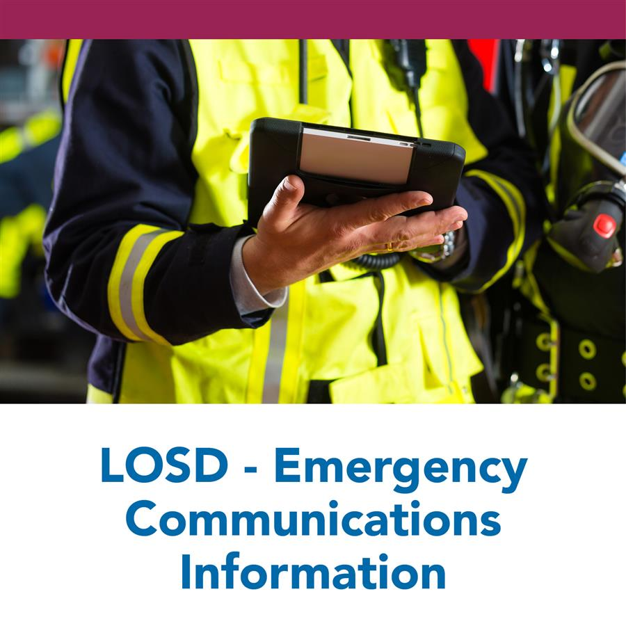 LOSD - Emergency Communications Information