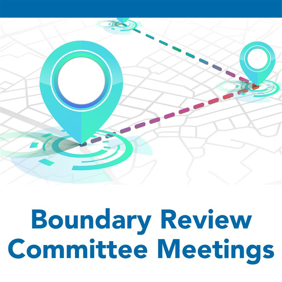 Boundary review committee meetings