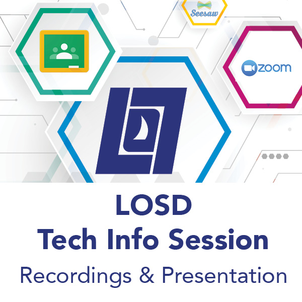 Tech Info Sessions Recording & Presentation