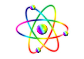 colorful atom
