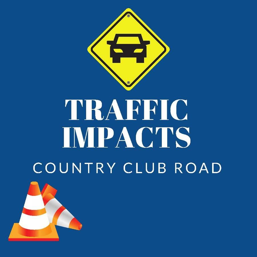 Traffic Impacts – Country Club Road (Communication from City of LO)