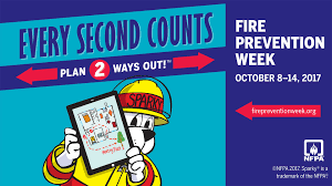 Click for link to information regarding Fire Prevention Week