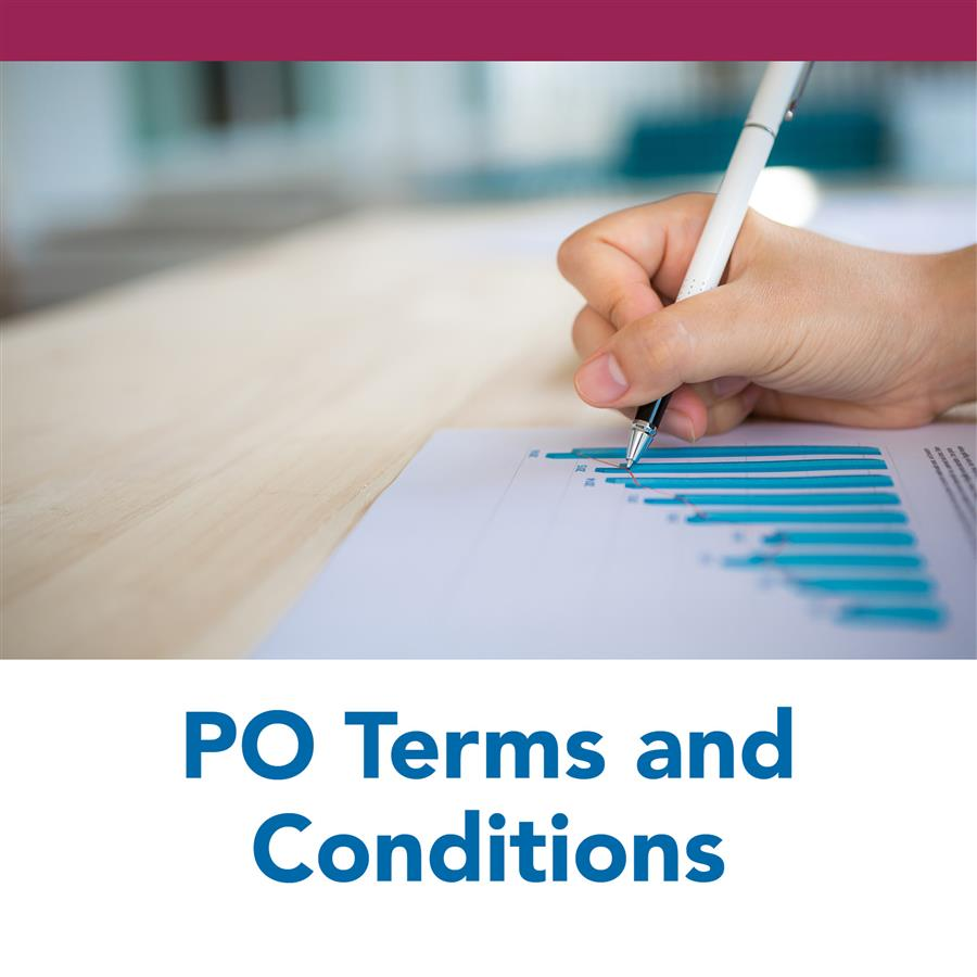 PO Terms and Conditions