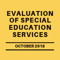 Evaluation of Special Education Services