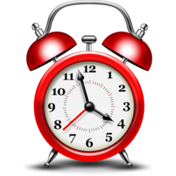 Alarm clock that links to new bell schedule for 2017-2018